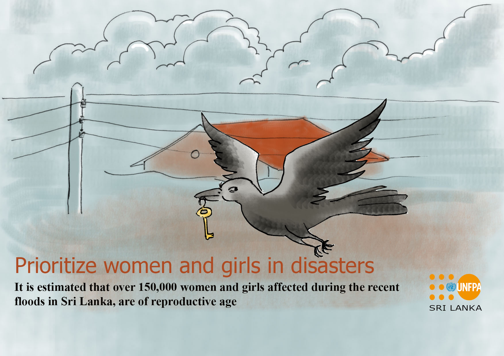 Prioritize girls during disasters