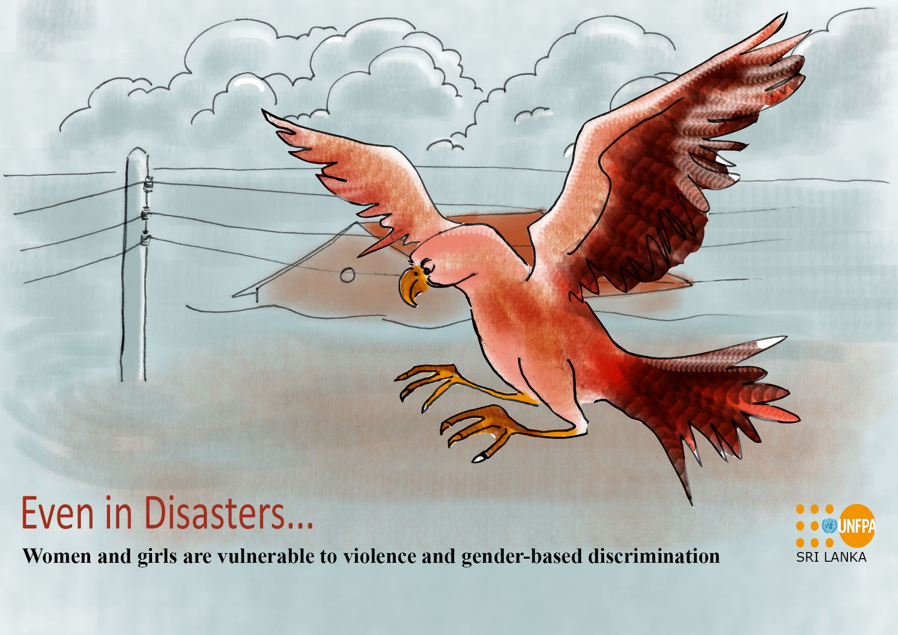 GBV increases during disasters